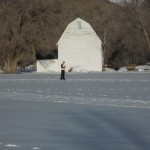 Cross country skiing at Jolley's Ranch
