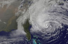 Hurricane Sandy: credit, NASA GOES project