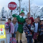 Mapleton Elementary crossing guard goes the extra mile