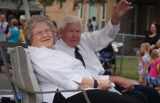 Reed and Leslie Francis, Mapleton's 2013 Pioneer Day Grand Marshalls