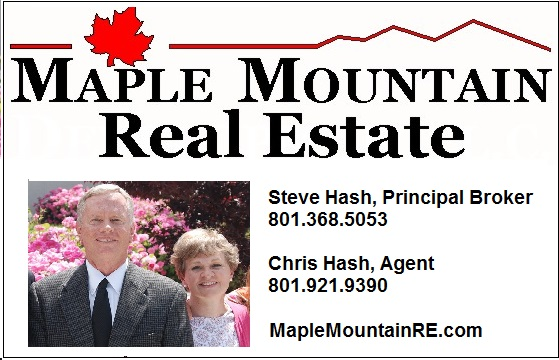 Maple Mountain Real Estate headshot ad