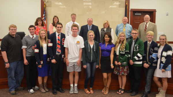 Nebo Youth School Board meets with Board of Education