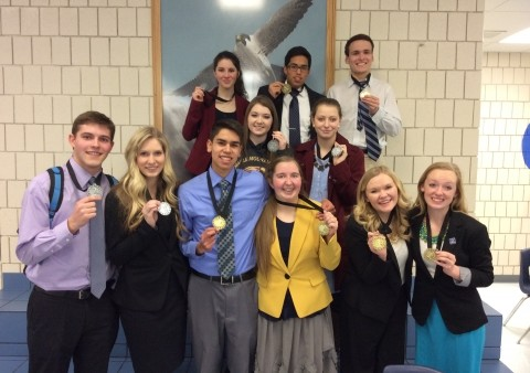Maple Mountain DECA Places 2nd at Utah Southern Regional Competition