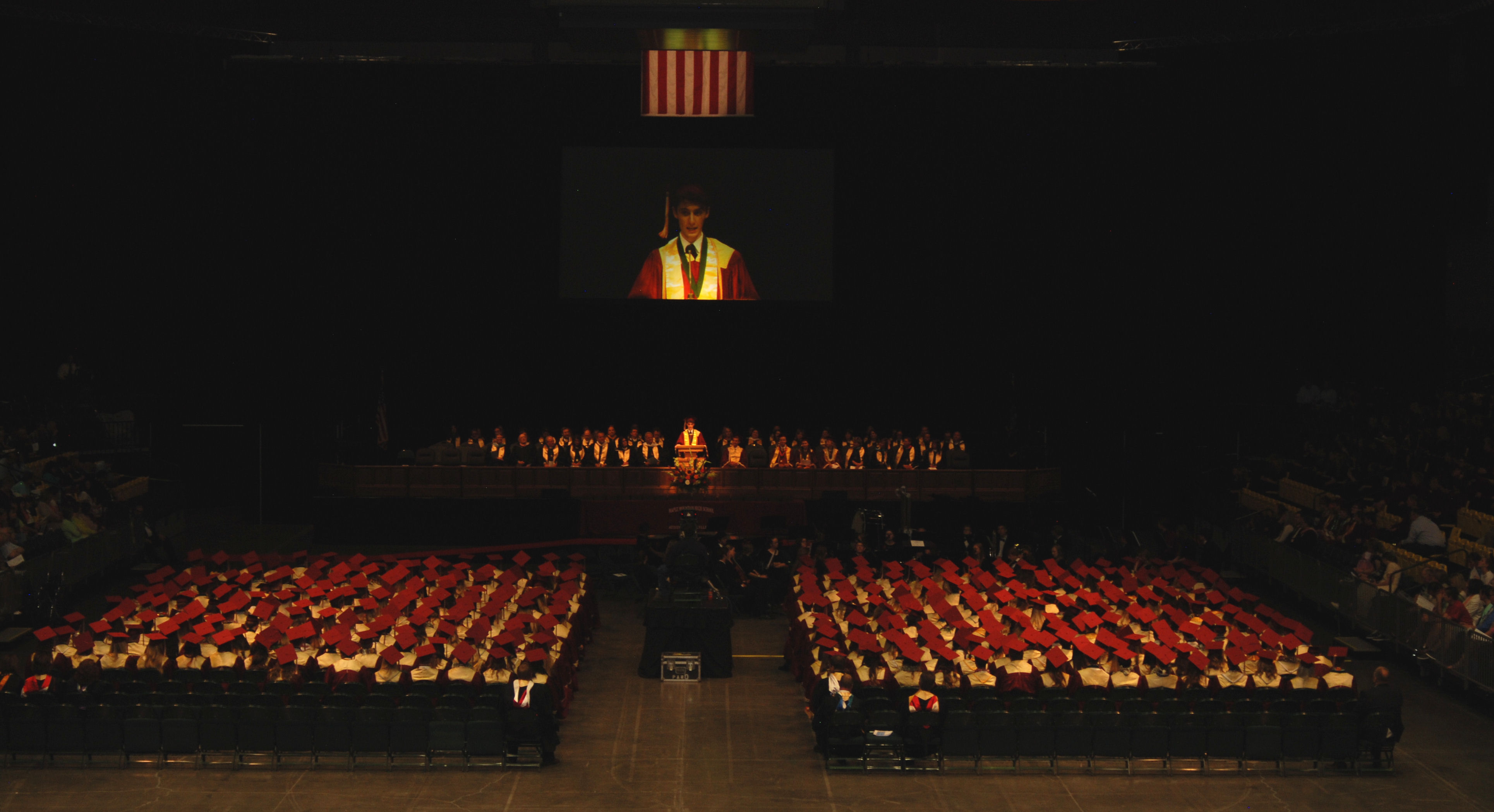 Maple Mountain High School Commencement 2015
