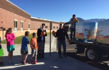 Maple Ridge students receive pumpkins from  Harward farms