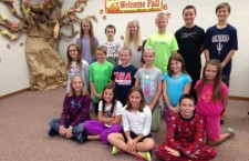 Mapleton Elementary Student Council members