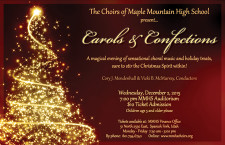 Carols and Confections tickets now available