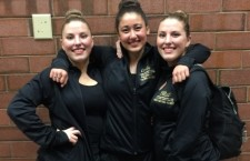Three Elleves named to All-State Drill Team
