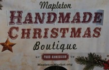 Mapleton Christmas Market to be held Dec 4-5