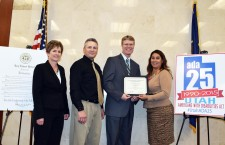 Governor's Committee surprises Nebo School District with award