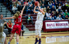 Maple Mountain girls prevail over Springville, 49-39