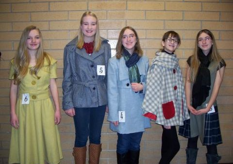 MJHS students participate in Make It with Wool