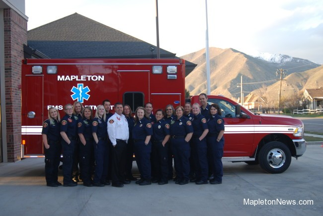 Mapleton welcomes new ambulance