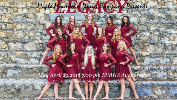 MMHS Dance Co Concert is Friday, April 29th