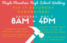 MMHS Welding Fix It Saturday is May 7