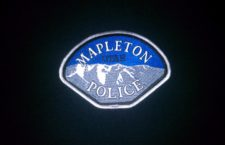 Mapleton Police Department auction and sale
