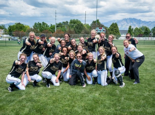 MMHS Girls Softball 2016 2nd in State