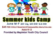 Mapleton Youth City Council Kids Camp is June 20-24