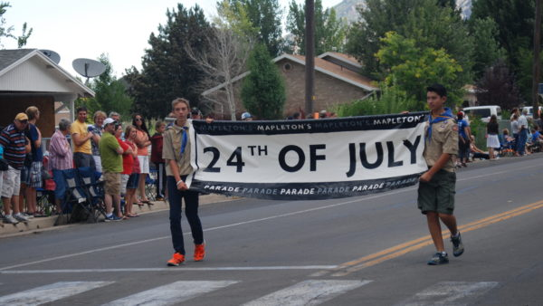 Mapleton's Pioneer Day 2016 schedule of events