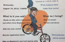 Mapleton Police to hold bike rodeo on Weds. Aug 10