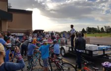 Mapleton Police hold bike safety rodeo