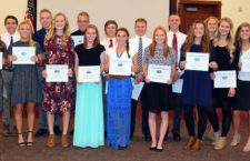 Nebo School District's Academic All-State Winners, Fall 2016