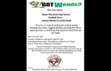 Maple Mountain Football Fundraiser is June 28